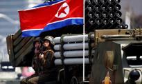 Japońskie niszczyciele płyną w stronę Korei Płn.