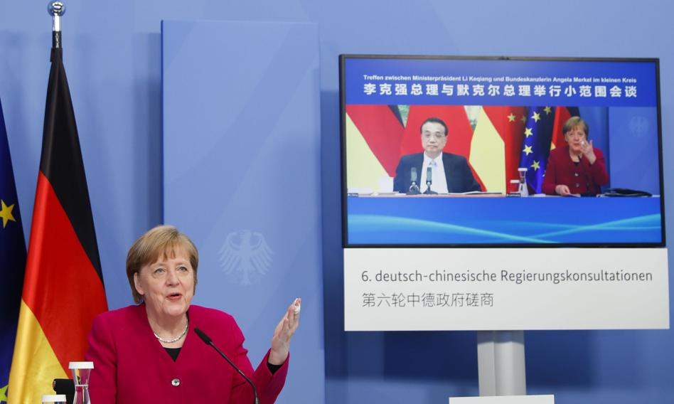 Merkel chce dialogu z Chinami ws. praw człowieka