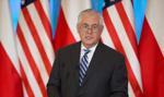 Tillerson: Polska i Stany Zjednoczone razem są przeciwni Nord Stream 2