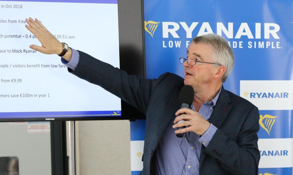 Ryanair zanotował rekordową stratę z powodu pandemii