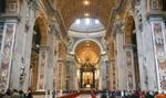 Zamknięta bazylika i plac Świętego Piotra