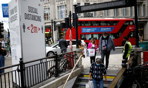 W Wielkiej Brytanii najwyższa od początku epidemii liczba wykrytych zakażeń