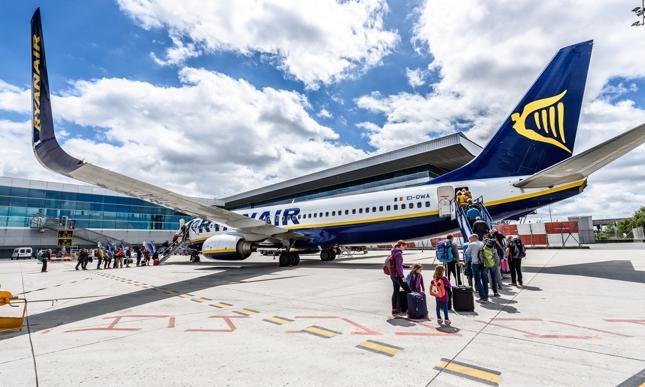Ponad 90 proc. samolotów Ryanair nadal uziemionych.