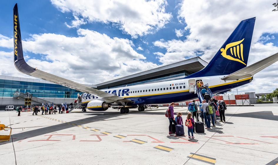 Ryanair wznowi loty z Bydgoszczy od czerwca