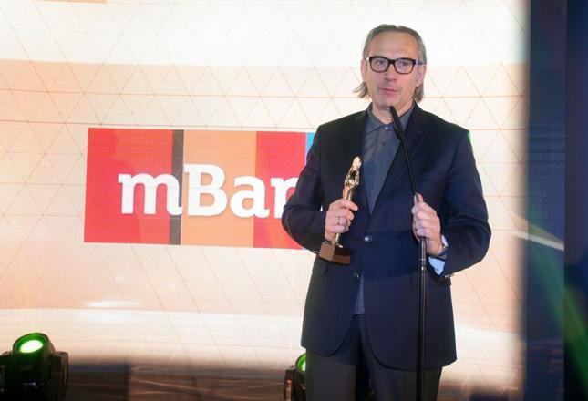 Prezes mbanku Cezary Stypułkowski