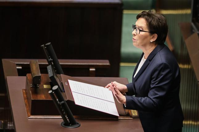 Premier Ewa Kopacz złożyła w czwartek w Sejmie dymisję