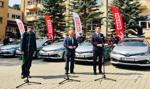 PKN Orlen przekazał służbie skarbowej 15 radiowozów