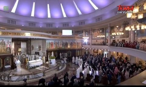 Sanepid nie nałoży kary na organizatorów urodzin Radia Maryja