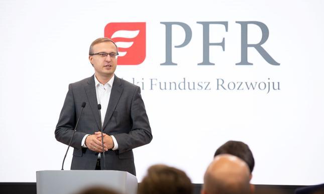 Prezes PFR: Startujemy z tarczą finansową dla dużych firm