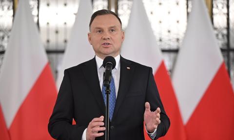 Duda: Roszczenia za krzywdy z czasów wojny powinny być kierowane do Niemiec
