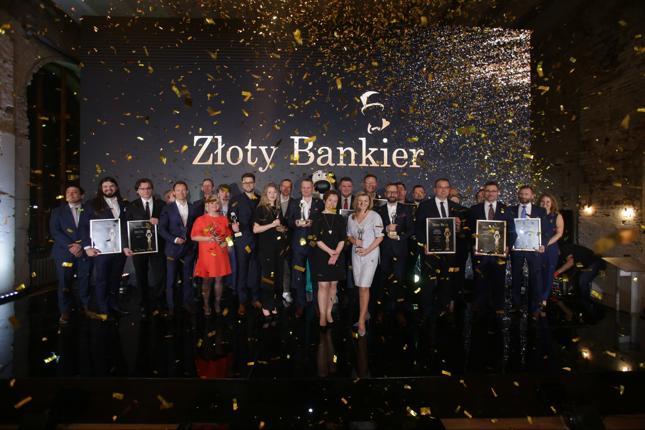 Wszyscy laureaci nagród w rankingu Złoty Bankier 2019.