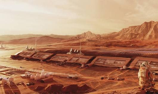 Życie na Marsie. Projekty osiedli marsjańskich studentów z Wrocławia nagrodzone w konkursie Mars Colony Prize
