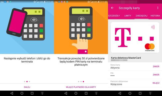T-Mobile Usługi Bankowe wprowadza płatności HCE