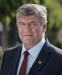 Marszałek województwa łódzkiego Witold Stępień