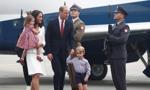Para książęca, William i Kate, przybyła do Warszawy