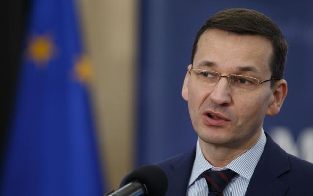 Wicepremier, minister finansów i rozwoju Mateusz Morawiecki