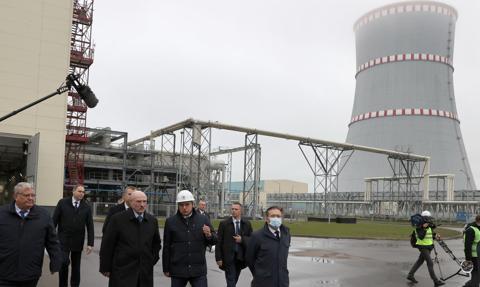 Blok elektrowni jądrowej na Białorusi odłączony, zadziałał system ochrony