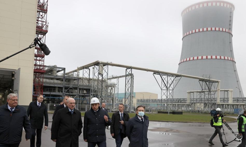 Kontrowersyjna elektrownia atomowa na Białorusi otwarta