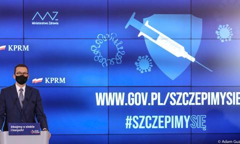 Morawiecki: Do końca II kwartału 27 milionów szczepionek