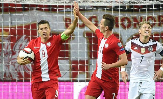Mecz Polska - Niemcy na Euro 2016 16 czerwca o godz. 21:00