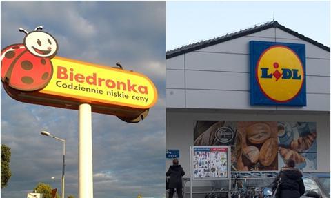 Lidl vs Biedronka - tak rosły wynagrodzenia