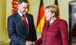 Duda o spotkaniu z Merkel: Wyraziłem zdumienie
