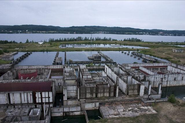 Niedoszła elektrownia w Żarnowcu