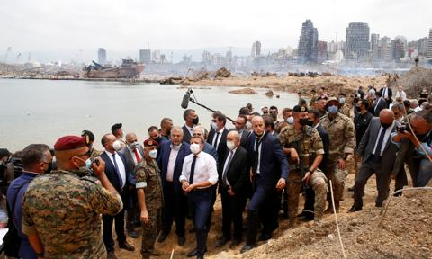 Macron: Pieniądze dla Libanu są