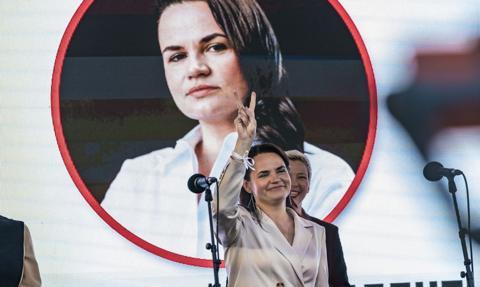 Cichanouska: Tak zwana inauguracja Łukaszenki to farsa