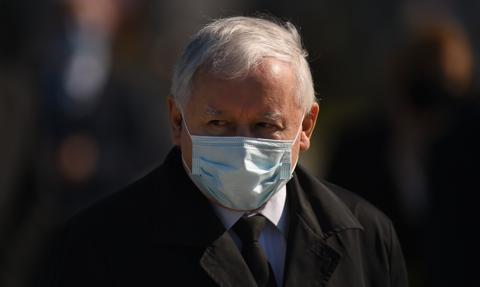 Jarosław Kaczyński na kwarantannie. Miał kontakt z osobą zakażoną
