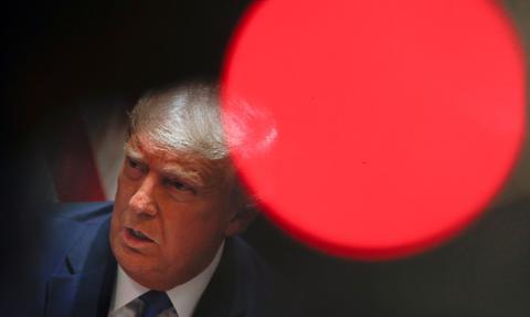 Zhakowano stronę internetową kampanii Trumpa