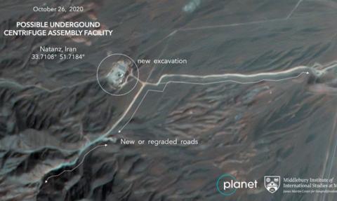 Iran rozpoczął budowę nowych instalacji nuklearnych