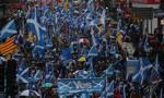 Kilkadziesiąt tysięcy osób uczestniczyło w marszu na rzecz niepodległości Szkocji