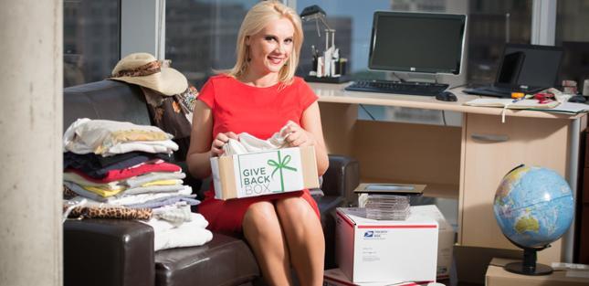 Monika Wieła - pomysłodawczyni Give Back Box