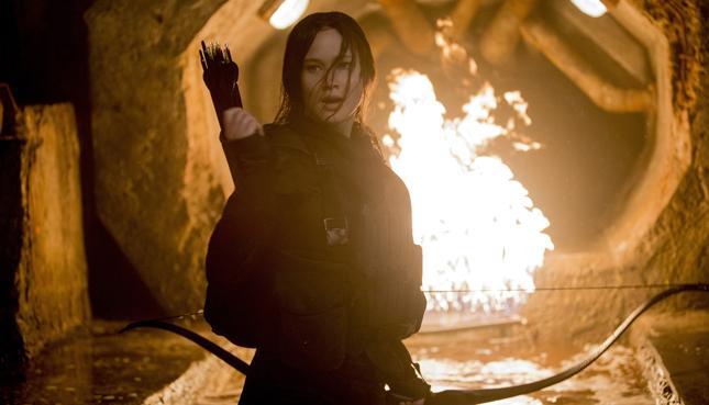 """Kadr z filmu """"Igrzyska Śmierci: W pierścieniu ognia"""""""