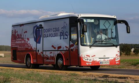 Transport autokarowy Polski powiatowej pominięty w Krajowym Planie Odbudowy