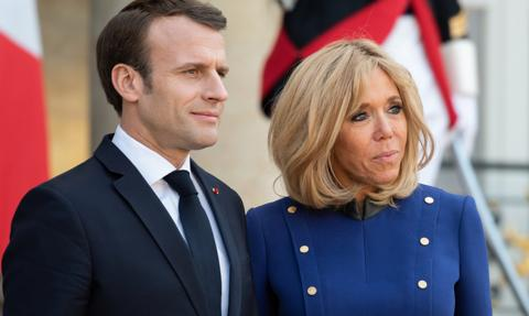 Brigitte Macron przeszła Covid-19 bezobjawowo