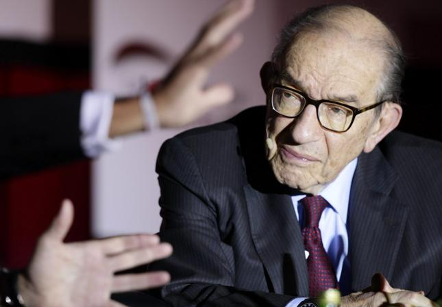 Były prezes Fedu Alan Greenspan