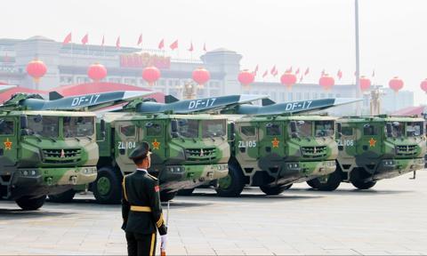 Chiny rozmieszczają rakiety średniego zasięgu naprzeciwko Tajwanu